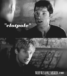 This scene was hilarious, because everyone's acting like it was the absolute worst thing Merlin could say.