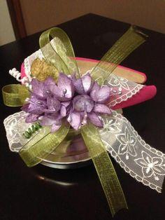 Fab find handmade silk cocoons crown