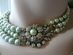 "Heidi Daus Necklace "" Art in Bloom "" Gorgeous 