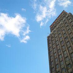 #prudential #warsaw #old #skyscraper #architecture #building | Warszawa, Poland