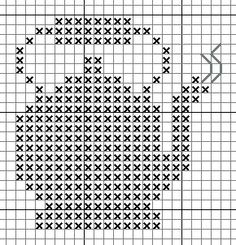 For the crafters out there! A little tea pot cross stitch.