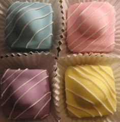 French Fancies, staple to every picnic and child's party in England....and I still love these!