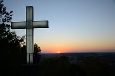 There is no prettier place than Mount Sequoyah in Fayetteville, Arkansas, during a sunset.