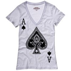 Be An Ace Tee Women's White