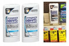 Free Right Guard Xtreme Clear Deodorant at CVS!