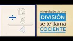 División - Cociente