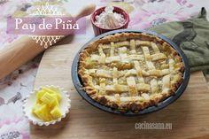 Receta de Pay de Piña casero | Tarta o Pie de Piña