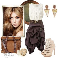 """""""Here's to funky skirts"""" by sheryl-lee on Polyvore"""