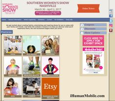Yes, we're attending Southern Women's Show Nashville ... iHumanMobile.com ... Details https://southernshows.com/wna