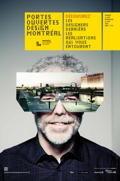 Portes Ouvertes Design Montreal | Don´t know which is cooler, the poster or the event!
