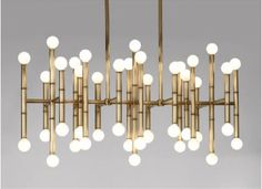 modern chandeliers by Jonathan Adler