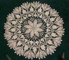 Ravelry: Cluster Stitch Doily pattern by American Thread Company