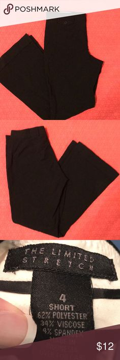 The Limited black dress pants The Limited black dress pants Size 4 short The Limited Pants Trousers