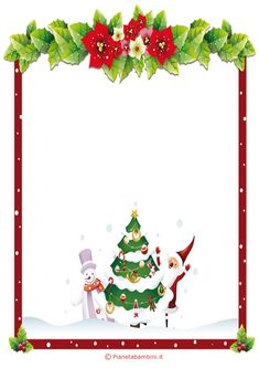 Lettera a Babbo Natale versione 6 da stampare gratis Exploding Boxes, Xmas, Christmas, Origami, Diy And Crafts, Stationery, Printables, Cool Stuff, Cornice