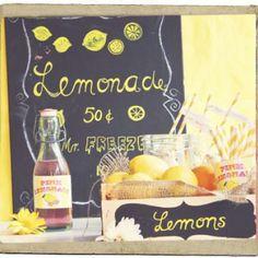 lemonade stand printables!