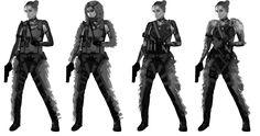 "ArtStation - Ura ""Strelok"" Glazkova - Spetsnaz GRU Assassin, Will JinHo Bik"