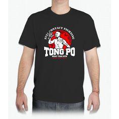NEW TONG PO MUAY THAI FIGHTER VILLAIN KICKBOXER VAN DAMME MOVIE - Mens T-Shirt