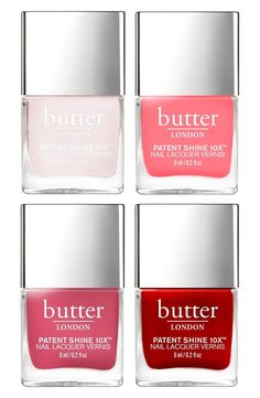 This four-piece nail lacquer collection contains everything needed to settle the color craving.