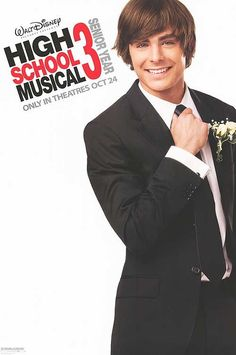 High School Musical 3: Senior Year , starring Zac Efron, Vanessa Hudgens, Ashley Tisdale, Lucas Grabeel. As seniors in high school, Troy and Gabriella struggle with the idea of being separated from one another as college approaches. Along with the rest of the Wildcats, they stage a spring musical to address their experiences, hopes and fears about their future. #Comedy #Drama #Family #Musical #Romance