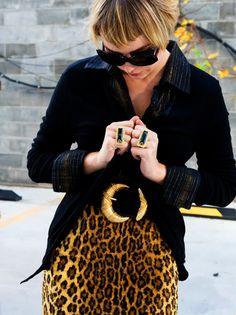 leopard print pop