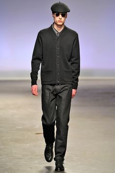 YMC Autumn/Winter 2013 Fashion Show @ London Collection Men: A Modern Style Play Of Heritage Colours & Structures
