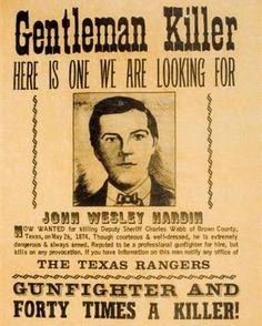 John Wesley Hardin | Photos | Murderpedia, the encyclopedia of murderers