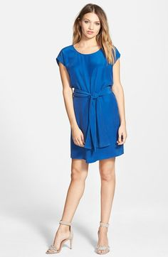 Amour Vert 'Orchidee' Cap Sleeve Dress available at #Nordstrom
