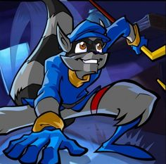 Sly Cooper. One of the few video games I will actually play