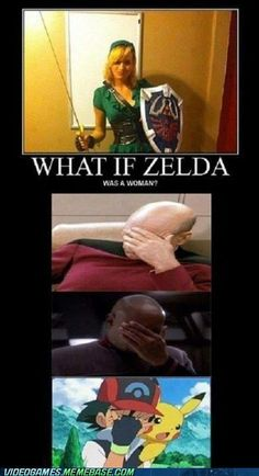 Nerd humor. How to spot a gamer girl vs. a gamer girl poser. Demotivational? Demotivational.