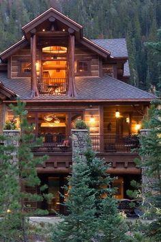 Dream Home - Luxury Rustic Homes (27 Photos) (16)