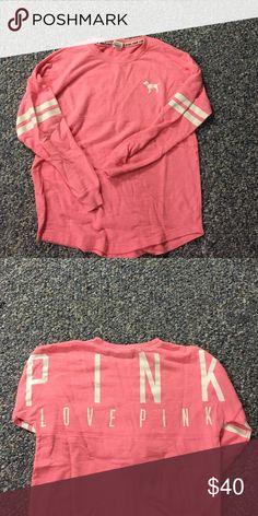 PINK over the head sweatshirt Super comfy PINK Victoria's Secret Sweaters Crew & Scoop Necks