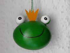 witziges Frosch Osterei