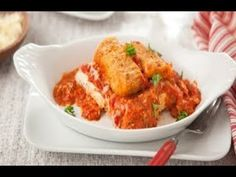 Part chicken, part cheese, 100% delicious. You can't go wrong with this Chicken Parmesan classic. #FarmRich