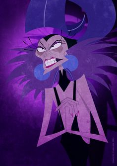 Yzma from one of my favorite Disney movies The Emperor's New Groove, so funny!