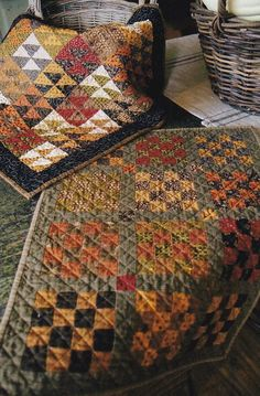 Check out the deal on HARVEST MOON QUILT PATTERN at Country Sampler - Spring Green, WI Primitive Quilts, Antique Quilts, Vintage Quilts, 16 Patch Quilt, Country Quilts, Country Sampler, Civil War Quilts, Halloween Quilts, Fall Quilts