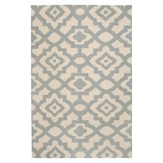 Beautifully handcrafted of wool, this chic rug from interior designer Candice Olson brings on-trend appeal to your den, dining room, or master suite....