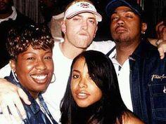 "Missy ""Misdemeanor"" Elliot, Slim Shady, Timbaland and the illustrious Aaliyah (R.I.P.), circa 1999!"