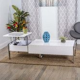 Found it at AllModern - Selva White Coffee Table with Lift Top