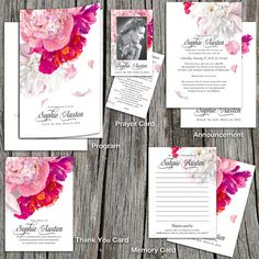 Beautiful Soft Peonies Stationery Collection is a personalized printable DIY stationary set. This collation may be customized with other colors