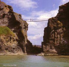 Carrick-A-Redde Rope Bridge