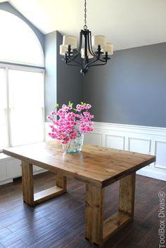 Lovely Husky Modern Dining Table