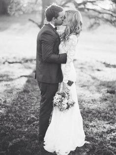 Casamento rústico.