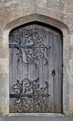 Such a beautiful Medieval door