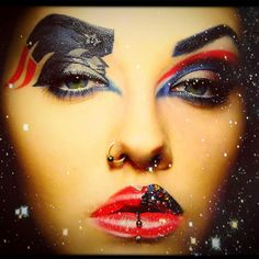 This is the most impressive Pats makeup I have ever seen!