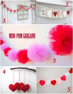 Celebrate Valentine's Day: Pretty Decor Ideas