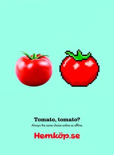 Hemköp: Tomato | Ads of the World™