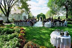 A truly unique Hudson Valley wedding venue:  FEAST at Round Hill House