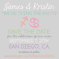 wedding post 3 - DIY save the dates