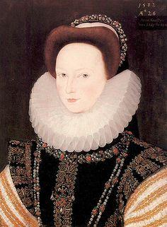 Anne Knollys, granddaughter of Mary Boleyn, great niece of Anne Boleyn