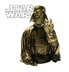 Star Wars: MBNA Galactic Rewards Exclusive Darth Vader Chrome Mini-Bust by Gentle Giant. $174.99. Master of the dark side of the Force. Anakin Skywalker became this scourge of the Jedi when seduced by Darth Sidious and the dark side. As right-hand man to the Emperor, he enforces command and obedience wherever he treads. But humanity remains, as one day he will revolt and defeat the Emperor to save his son, Luke Skywalker.  This bust will be Smoked Chrome plated...